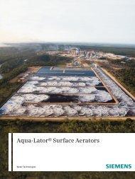 Aqua-Lator® Surface Aerators - Siemens