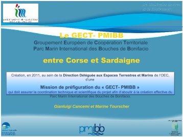 Présentation du GECT – PMIBB
