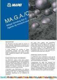 MApei Grinding Aid/C Agentsde mouture pour ciment