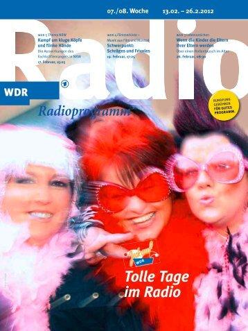 Tolle Tage im Radio - WDR.de