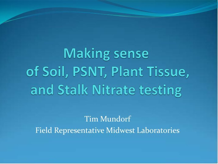 fertilizers and testing for nitrates essay
