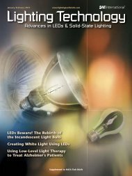 The Rebirth of the Incandescent Light Bulb - Deposition Sciences, Inc.