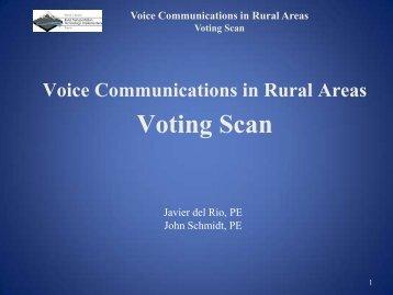 Voting Scan - Western States Forum