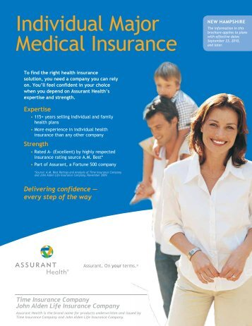 Individual Major Medical Insurance - Health Insurance Leads