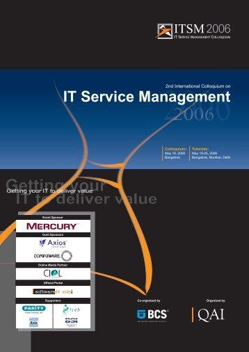 IT Service Management - QAI