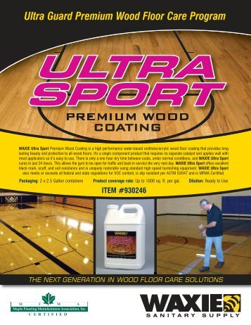 ULTRA SPORT ULTRA SPORT Ultra Guard Premium Wood Floor ...