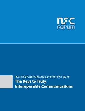 NFC Forum White Paper - Institut für Sicherungssysteme