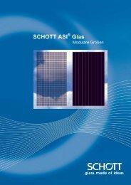 SCHOTT ASI® Glas – Modulare Größen - MEA SOLAR