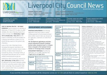 3 April - Liverpool City Council