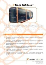 Tegola Roofy Energy - Infobuildenergia.it