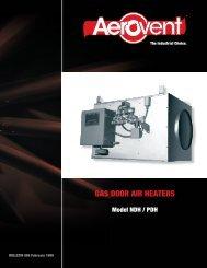 Door Air Heater - Aerovent
