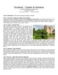 Scotland: Castles & Gardens - Sterling Tours