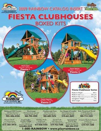 FIESTA CLUBHOUSES - Play Rainbow
