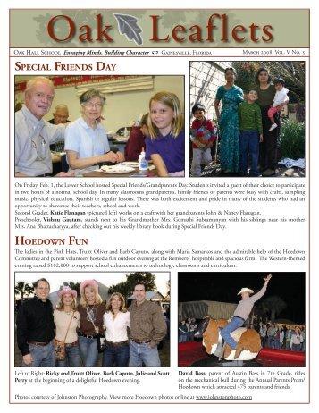 March 2008 - Oak Hall School