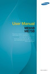 ME65B User Manual - Samsung