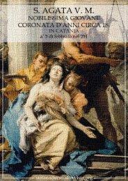 S. Agata v. m. : nobilissima giovane coronata d'anni circa 18 in ...