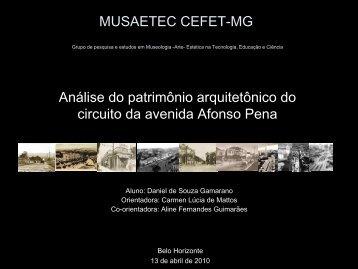MUSAETEC CEFET-MG Grupo de pesquisa e estudos em ...