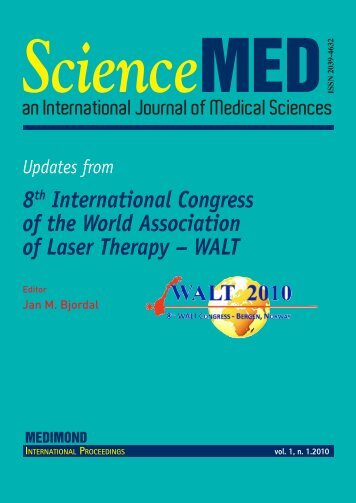 8th International Congress of the World Association of Laser ...