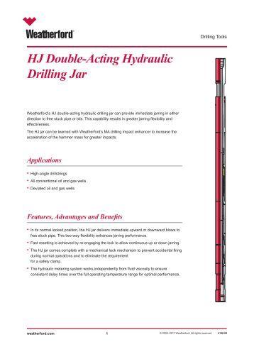 Hydraulic Fishing Drilling Jar Hj Wenzel Downhole
