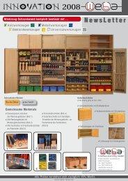 Werkzeugschränke komplett mit Inhalt - WeBa