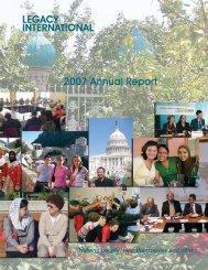 Annual_Report_2007 - Legacy International