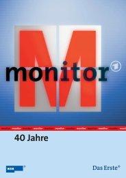 40 Jahre Monitor - WDR.de