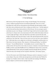 Religious Gatheka – Hazrat Inayat Khan 17. The Sufi Message ...
