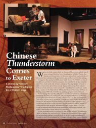 Chinese Thunderstorm - Phillips Exeter Academy