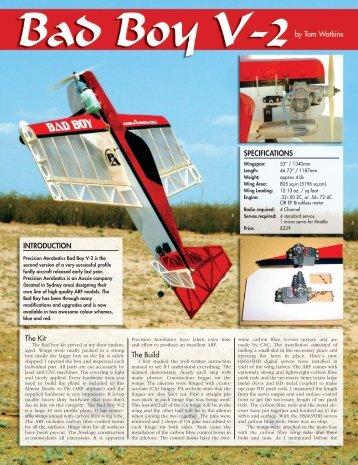Airborne review - Bad Boy V-2.pdf - Precision Aerobatics