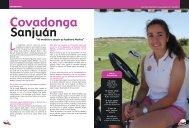 entrevista a covadonga sanjuán - Real Federación Española de Golf