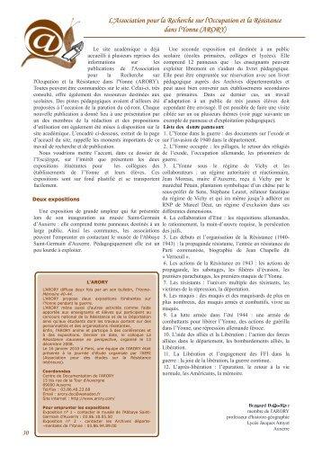 ARORY - Histoire géographie Dijon