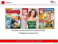 Gong plus + - WAZ ZEITSCHRIFTEN MARKETING GmbH & Co. KG