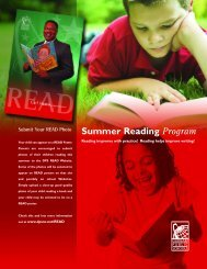 Summer Reading Program - Durham Public Schools