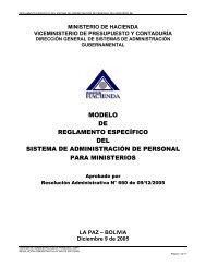 modelo de reglamento específico del sistema de administración de ...
