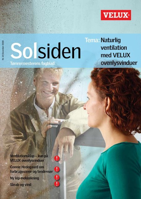 Naturlig ventilation med VELUX ovenlysvinduer Tema: