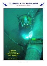 Offshore SPM Pipeline Repair PDF - NORDSEETAUCHER GmbH