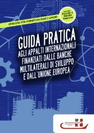 Guida pratica agli appalti internazionali - LombardiaPoint