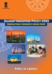 Gujarat Industrial Policy - 2009 - iNDEXTb