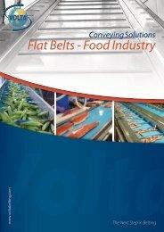 Flat Belts - Food Industry