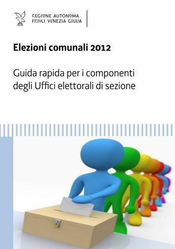 Guida rapida per i componenti degli Uffici elettorali di sezione