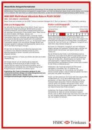 WALSER Multi-Asset Absolute Return PLUS ... - Walser Privatbank AG
