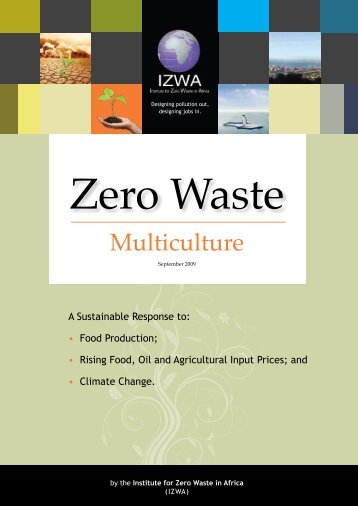 Food Production - Institute for Zero Waste