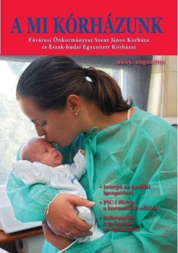 A Mi Kórházunk: 2009. augusztus - Szent János Kórház