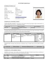 Dalia Bagdžiūnienė - Kokybės vadybos magistro programa