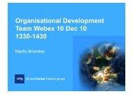 ODT Webex 10 Dec10, powerpoint slides - CHFG
