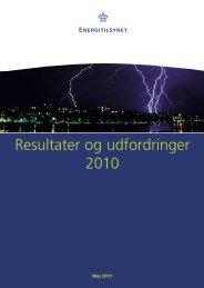 Resultater og udfordringer 2010.pdf - Energitilsynet