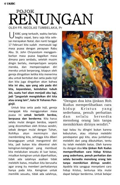Buletin - February 2010 - ukibc