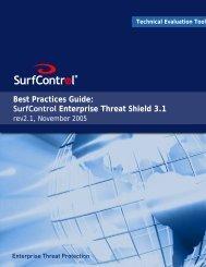 SETS 3.1 Best Practice Guide 2.1.fm - Websense.com