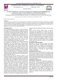 in vitro antioxidant activity of sauropus bacciformis blume