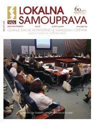 izdanje stalne konferencije gradova i opština - Stalna konferencija ...